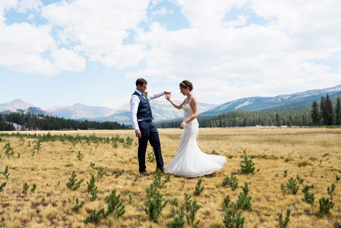 Yosemite Park Wedding