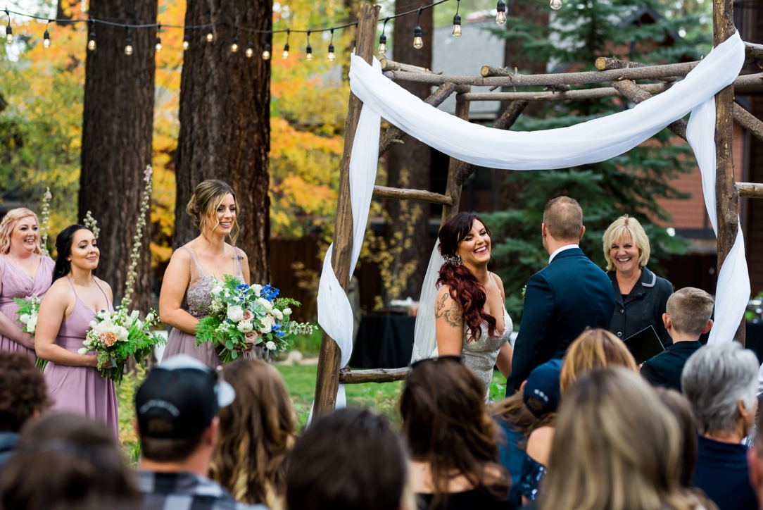 Black Bear Lodge Wedding